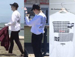 BTS.反日行動,Tシャツ